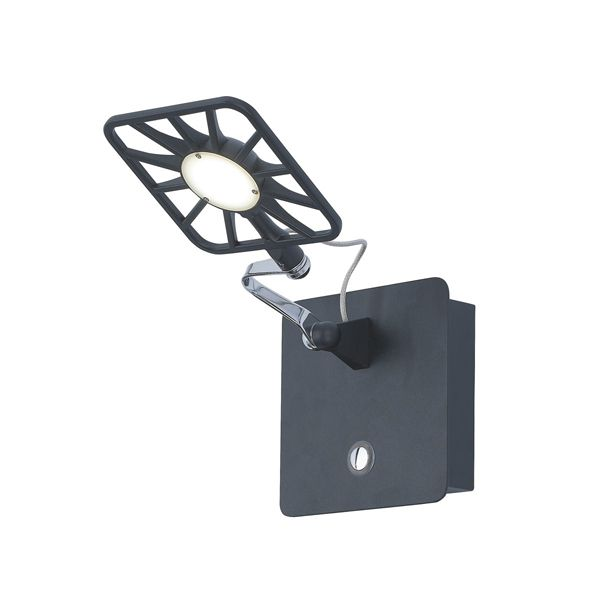 Бра Searchlight 7262BK LED ADJUSTABLE WALL купить